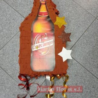 Piñata 3d adulto botella