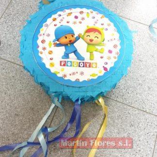Piñata 3d redonda Pocoyó