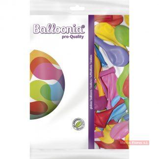 Bolsa globos mixto colores 100u