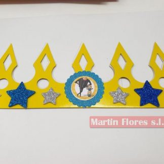Corona cumpleaños Minions