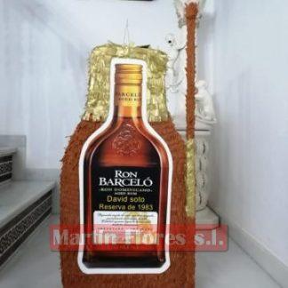 Piñata 3D Botella alcohol