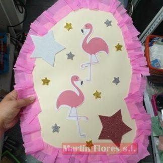 Piñata diseño mediana Flamenco