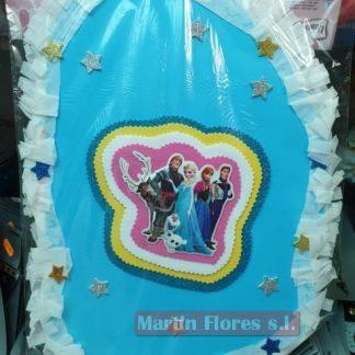 Piñata diseño mediana Frozen