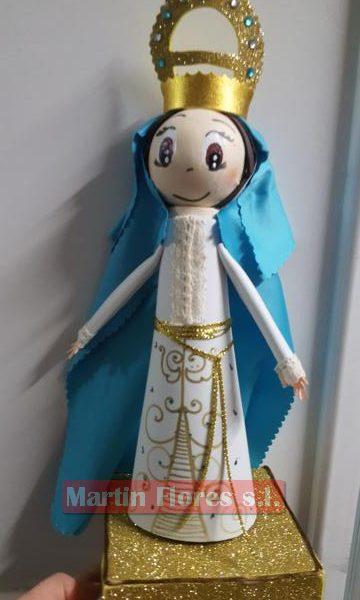 Muñeco fofucha Virgen