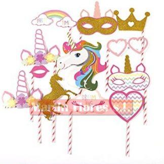 Palitos photocall unicornio especial