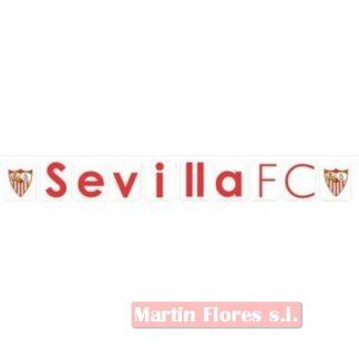 Guirnalda equipo fútbol Sevilla FC
