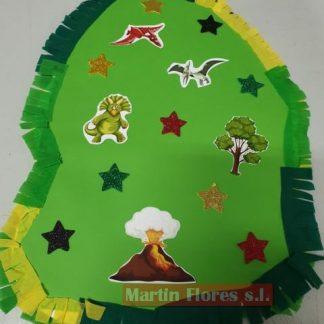 Piñata diseño mediana dinosaurios