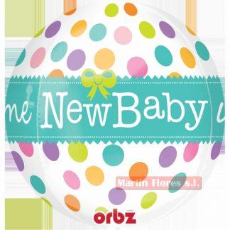 Globo bola New baby