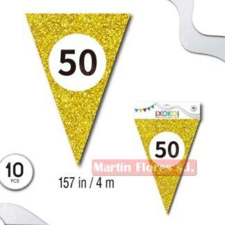 Banderín dorado 50 años