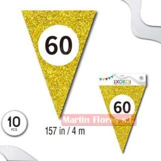 Banderín dorado 60 años